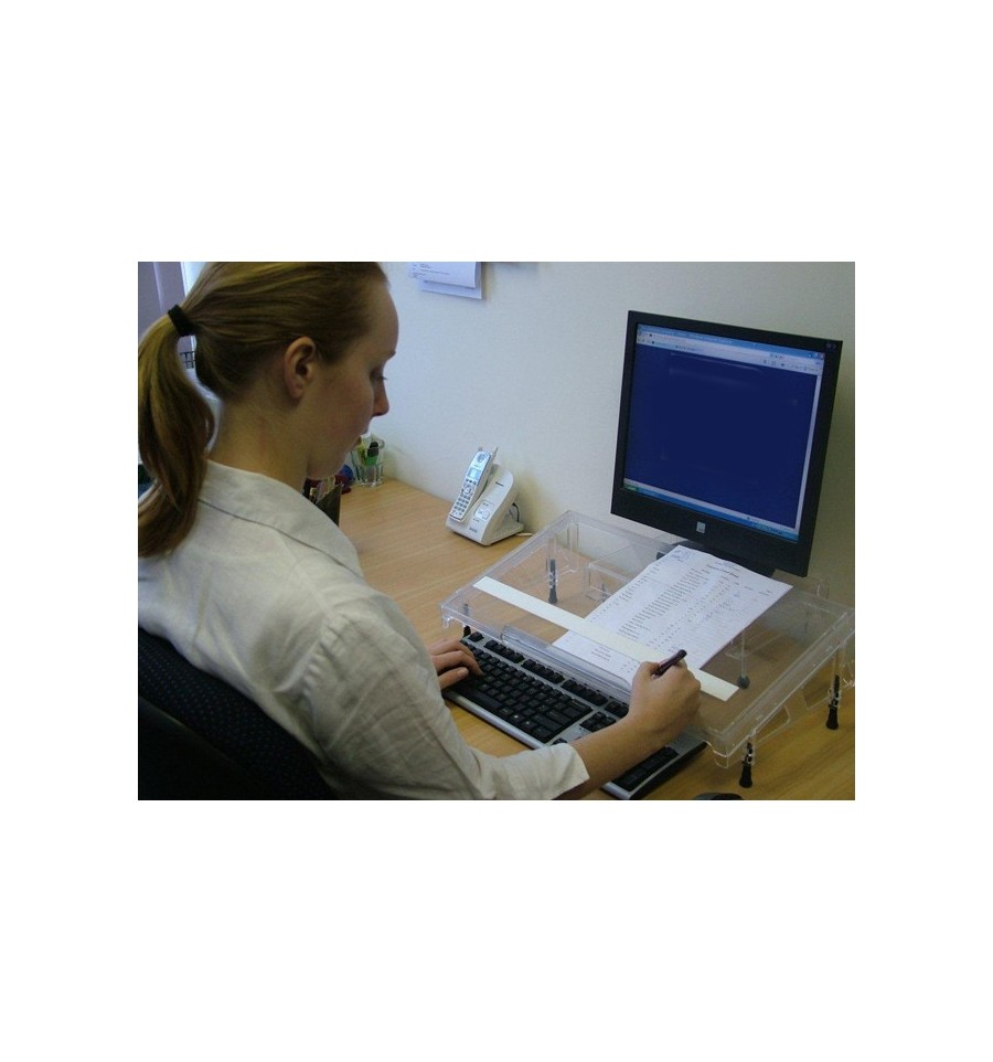 Microdesk Document Holder Amp Writing Slope Prevent Neck And