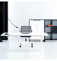 Sit Stand Desk White Frame KO23