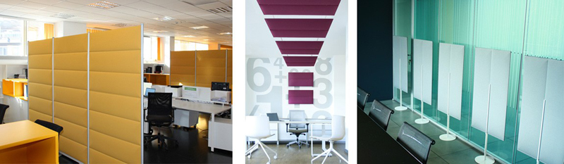 Good_Acoustics for the workplace wall and ceiling