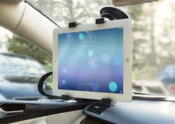 Tablet Holder for the Car Windscreen