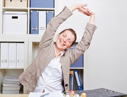 Stretch Exercises at your desk
