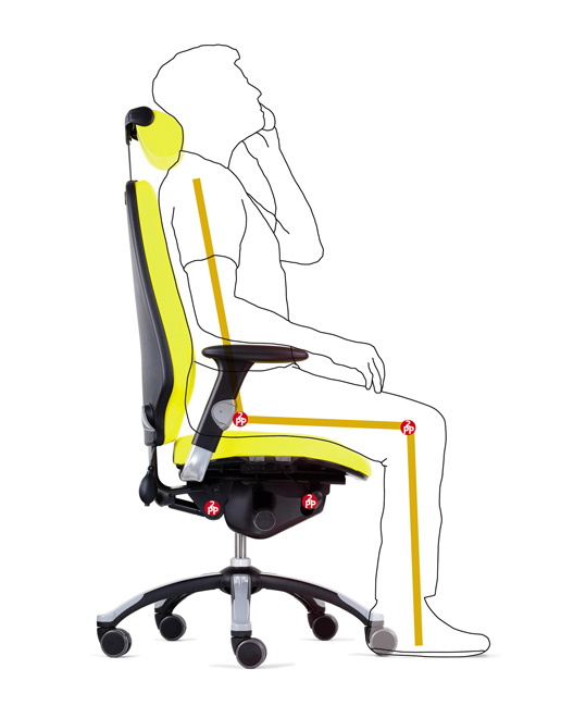 Ideal Office Chair For Those With Coccyx Problems Has A Coccyx - Ergonomic office chair uk
