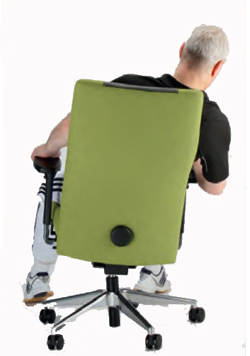 Ergonomic Balans Chair follows your movements