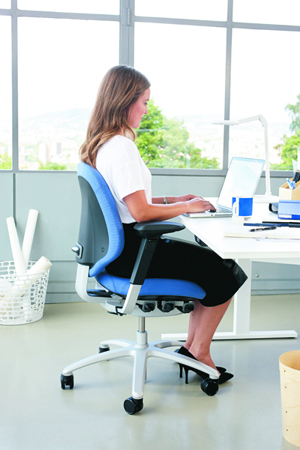 Mereo Office Chair keeping your body supported as you work