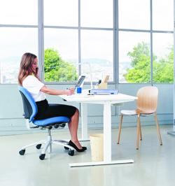 Mereo Office Chair adjusts to suit all size users