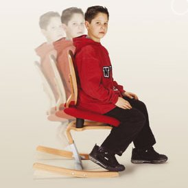 Ergonomic Chair for children a rocking chair to promotes good posture