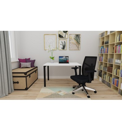 Mobile Manual Height Adjustable Desk 1200 x 800