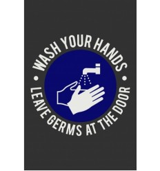 COVID 19 Wash your Hands Mat