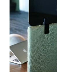 Flexiglass Desk Screen Topper