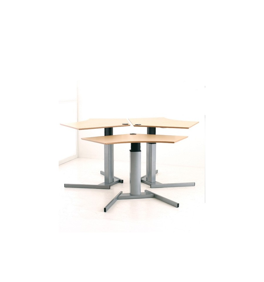 Electric table height adjustable table kos ergonomic Motorized table