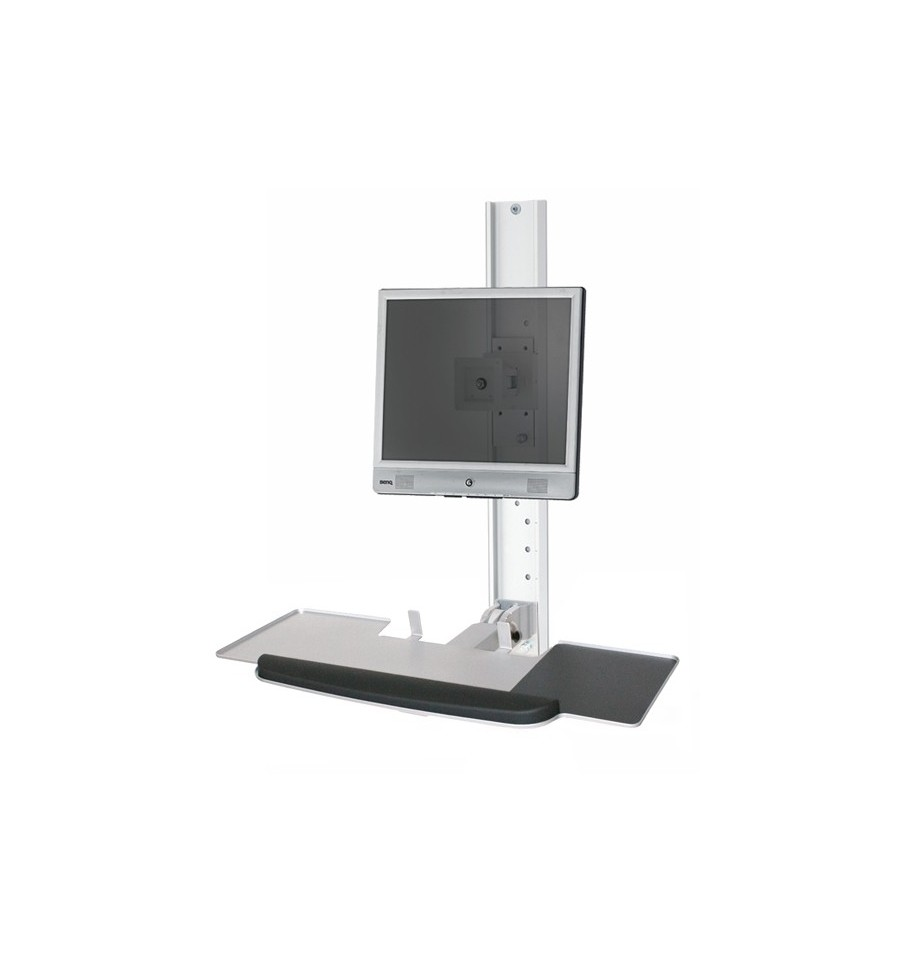 Computer Workstation Wall Mounted Workstation For Limited Space Kos