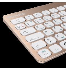 Penclic Mini Wireless Keyboard - Glam Gold