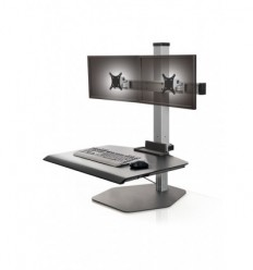 Stand Up Desk Dual Monitor Station WFS2