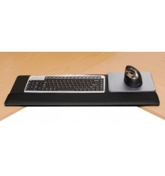 Wrist / Palm Rest on Metal Plate with Elevated Mouse KO28