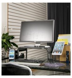 Adjustable Monitor Stand Metal  KOS494