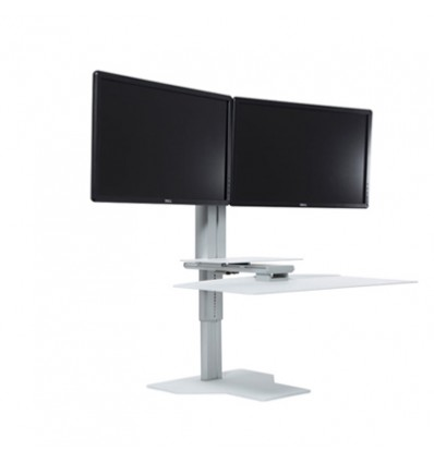 Sit & Stand Workstation Dual Monitors WSK2W
