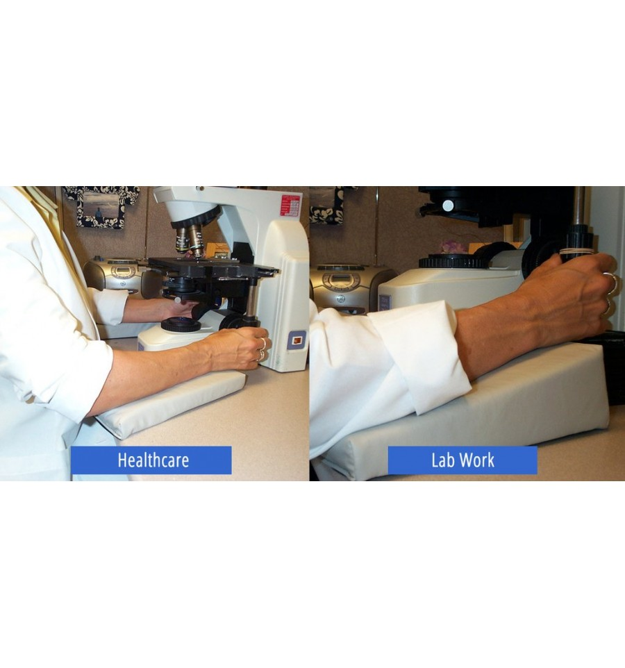 Wedge Arm Support For Labs And Industry To Relieve Ackward