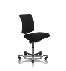 HAG H05 5100 Chair with High Gas Stem 550 - 785mm, Footrest and Glides