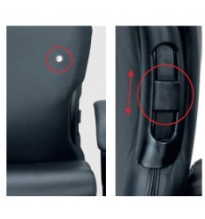 XXXL Office Chair KOS 506 with neckrests.