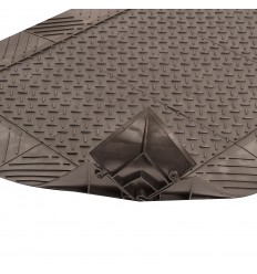 Diamond Solid Anti-fatigue Mat