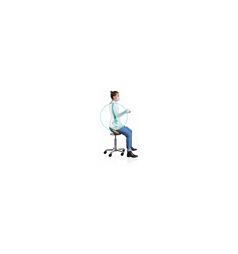 Best Supported Dental Saddle To Improve Posture And Manage