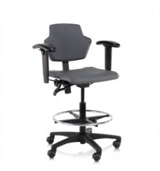 Robust and Affordable Industrial Chair Spire K1502 High Counter