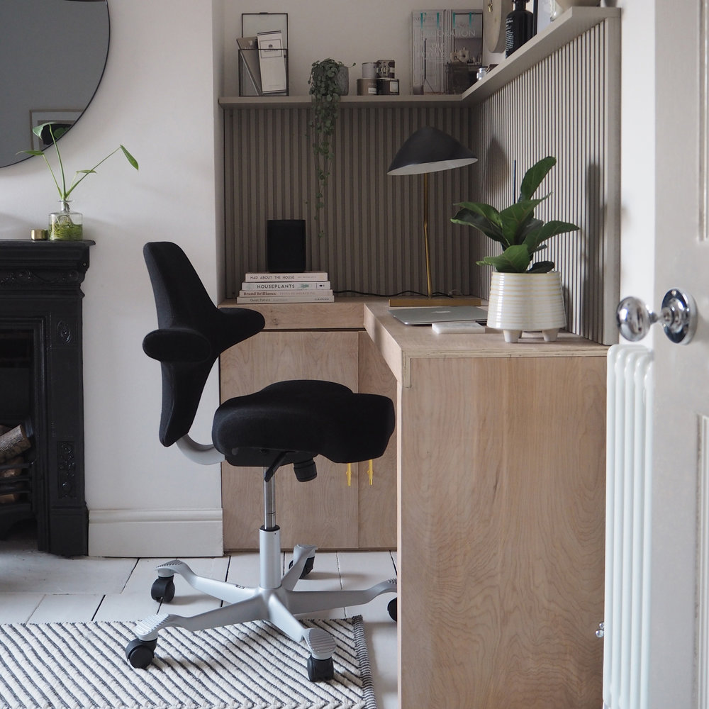 organise your workspace at home