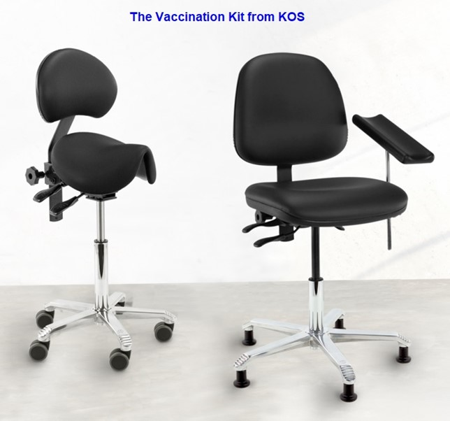 Vaccination chair , Chairs for vaccines Ireland