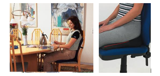how to sit in your office chair correctly