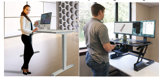 examples of good sit stand desks