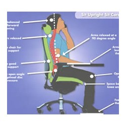 Adjust your Office Chair for full support - New Years Resolution
