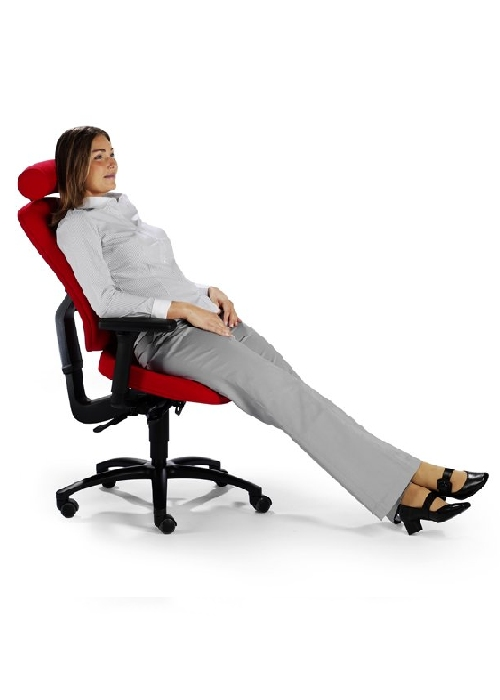 Excellent Lumbar support while stretched out