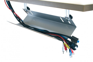 Cable Pipe KOS100 cable management for office safety