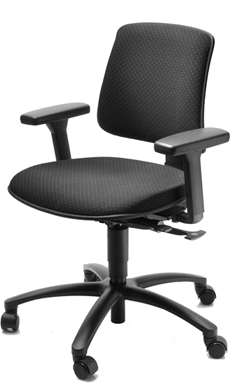 Ergo Low Bench Chair K103L will help prevent back problems in Labs and industry Dublin Ireland