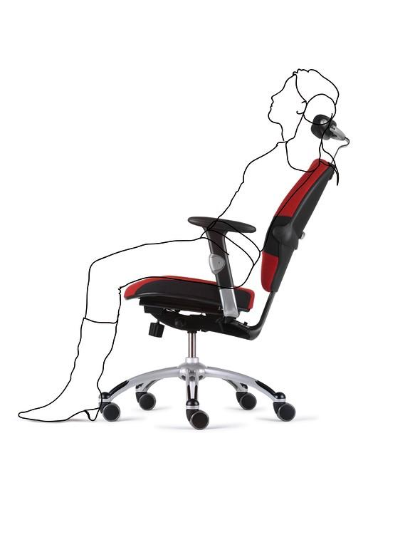 Extend Back Support in every sitting position