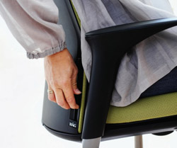 HAG Futu Office Chair so easy to adjust to your individual needs