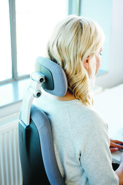 RH Mereo Task Chair Headrest from KOS Ergonomics