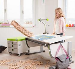Economical Childs Desk Tilt Adjustable