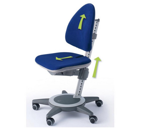 Ergonomic Childs Chair Max Adjustable Childrens Chair