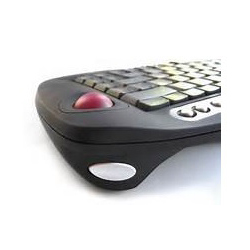 Wireless Mini Keyboard with Trackball Mouse for laptop users Dublin Ireland