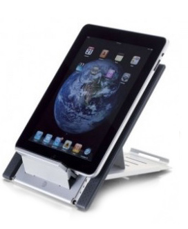 iPad Stand and Tablet Stand from KOS Ergonomics to avoid neck and shoulder pain Ireland