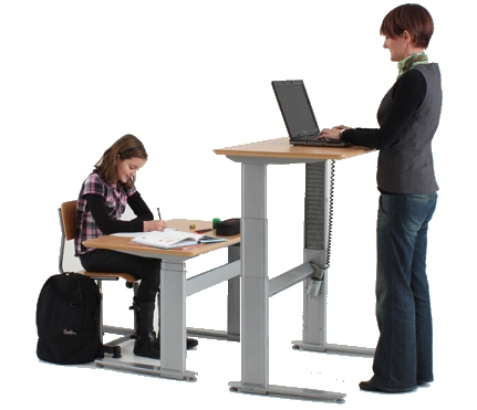 Height Adjustable Desk KO1025 for Both Adults and Children